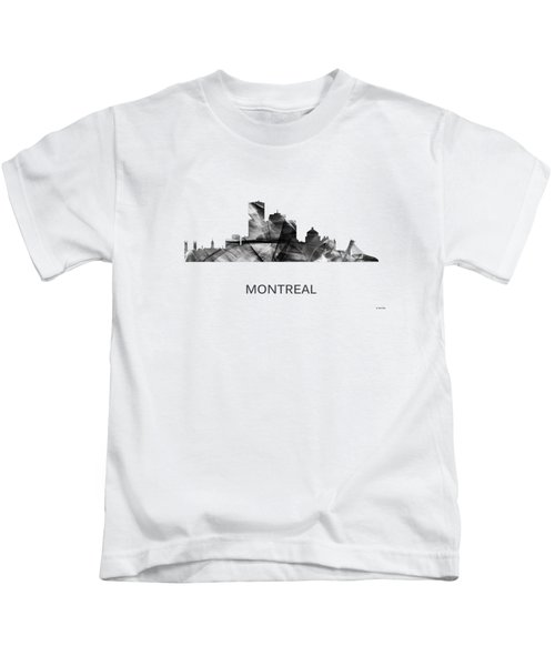 Montreal Que.skyline Kids T-Shirt