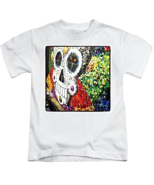 #mosaic #decoupage #collage #hood Kids T-Shirt