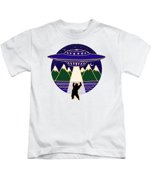 Mothership Takes Bear Kids T-Shirt