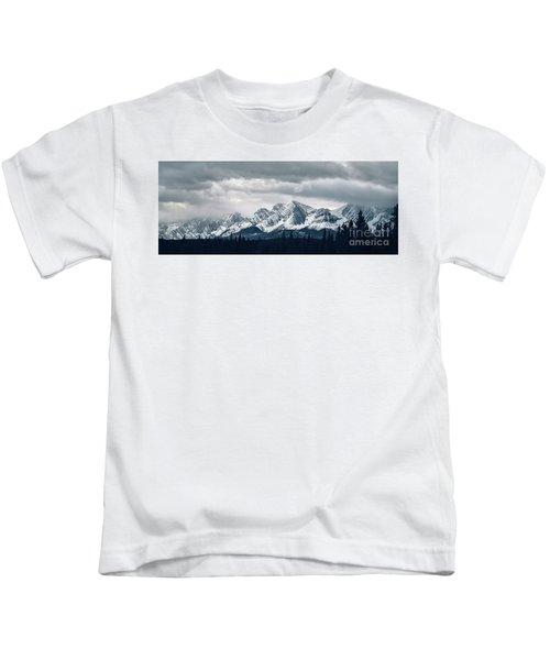 Mountainscape Kids T-Shirt