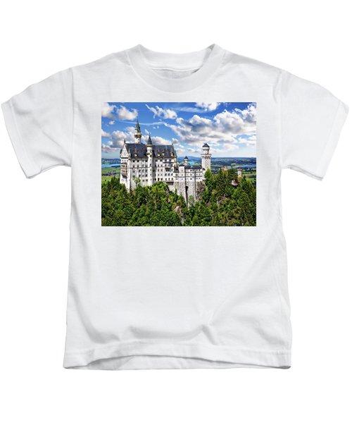 Neuschwanstein Castle Kids T-Shirt