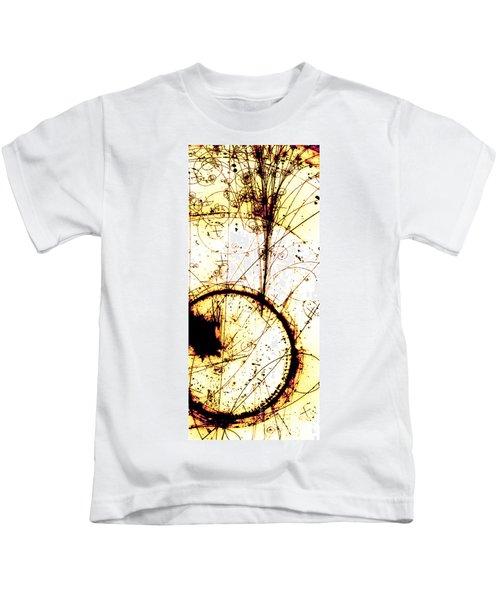 Neutrino, Bubble Chamber Event Kids T-Shirt