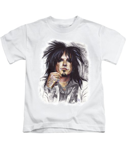 Nikki Sixx Motley Crue Kids T-Shirt