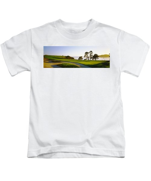 Pebble Beach Golf Course, Pebble Beach Kids T-Shirt