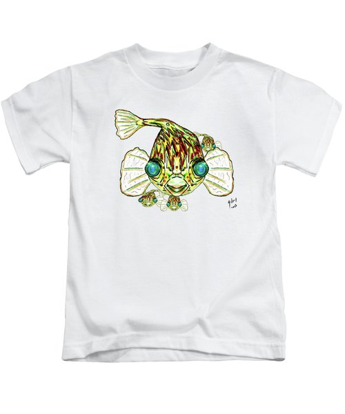 Puffer Fish Kids T-Shirt