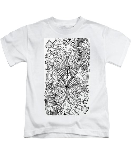 Queen Of Spades 2 Kids T-Shirt