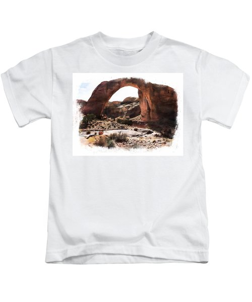 Rainbow Bridge National Monument Kids T-Shirt