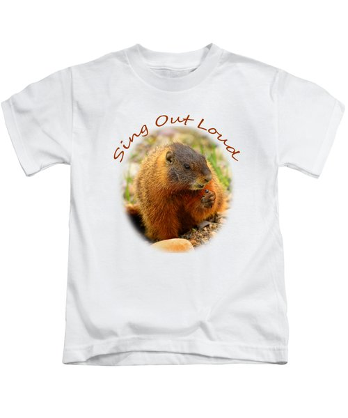 Sing Out Loud Kids T-Shirt