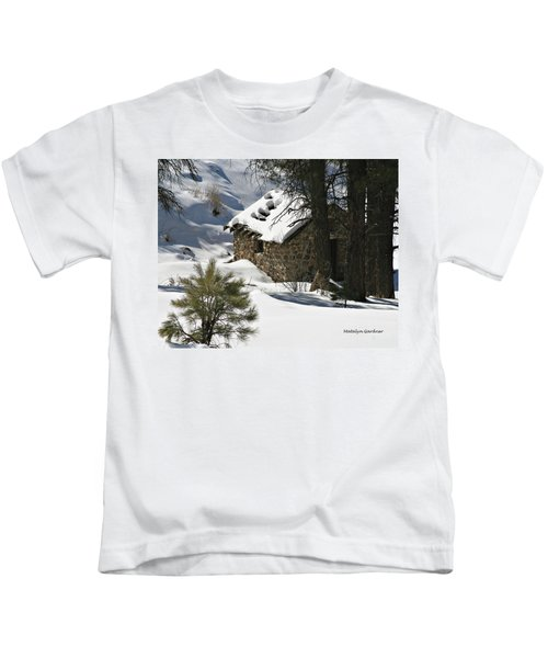Snow Cabin Kids T-Shirt