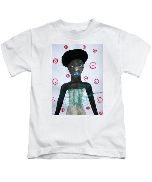 South Sudanese Lady Kids T-Shirt