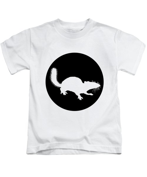 Squirrel Kids T-Shirt by Mordax Furittus