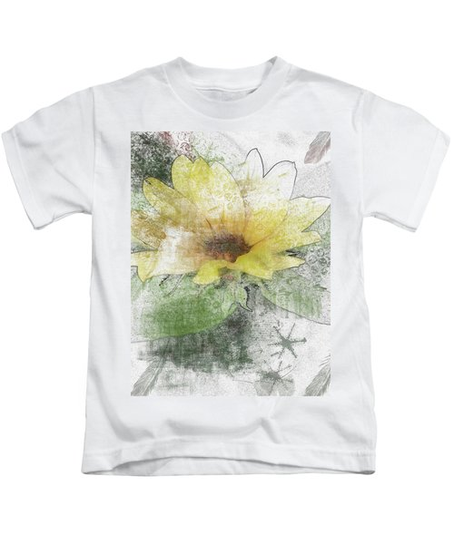 Sunflower Canvas Kids T-Shirt