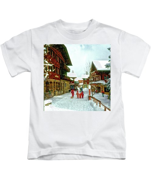 Switzerland Alps Kids T-Shirt