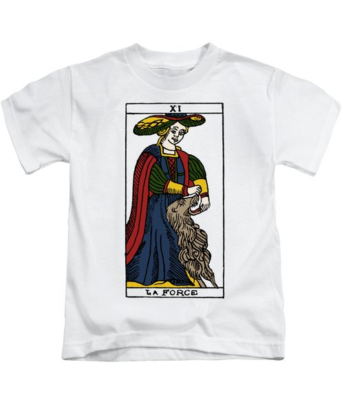 Tarot Card Strength Kids T-Shirt