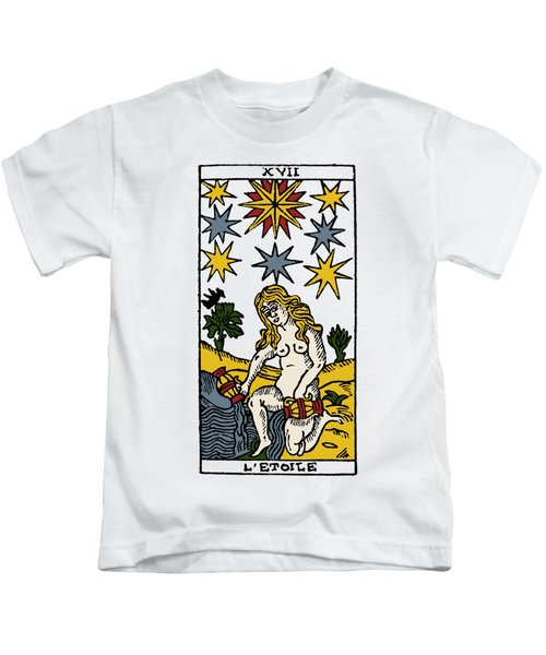 Tarot Card The Stars Kids T-Shirt