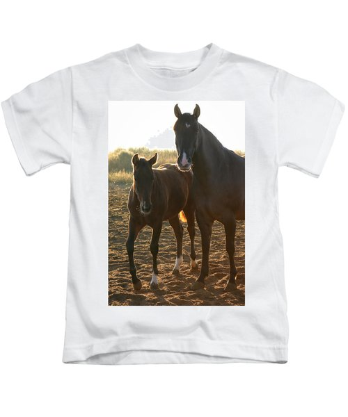 Texas Mare  Kids T-Shirt
