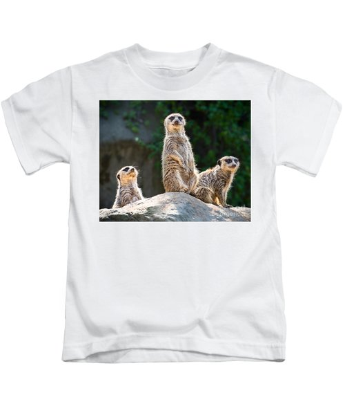 Three's Company Kids T-Shirt by Jamie Pham