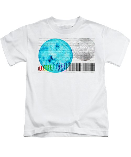 Urban Graffiti - Binary Evolution Kids T-Shirt