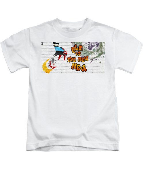 Urban Graffiti - Old Is The New New Kids T-Shirt