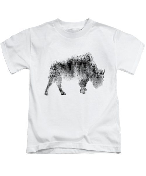 Wild Bison Kids T-Shirt
