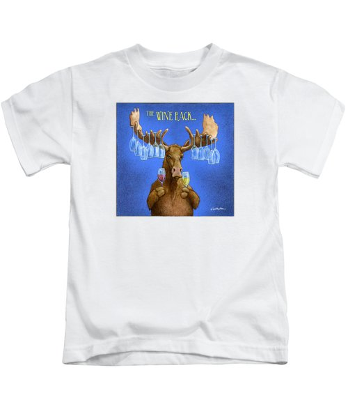 Wine Rack... Kids T-Shirt