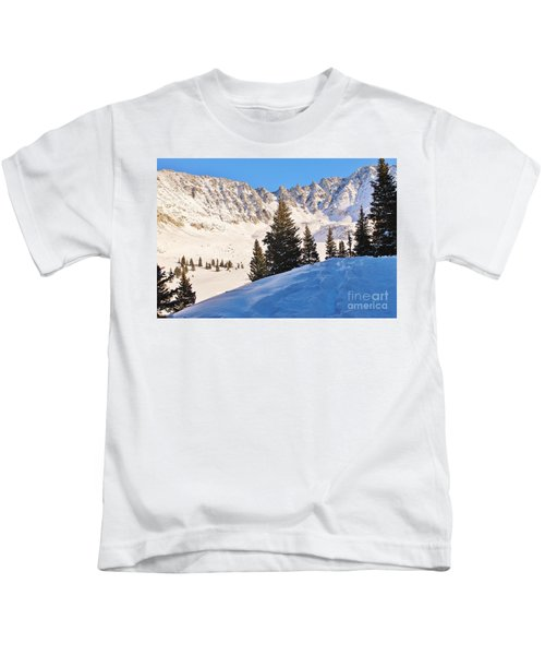 Winter At 12,000 Feet 2 Kids T-Shirt