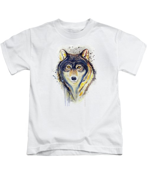Wolf Head Kids T-Shirt