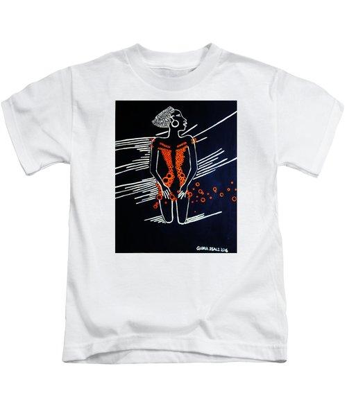 Dinka Diva - South Sudan Kids T-Shirt