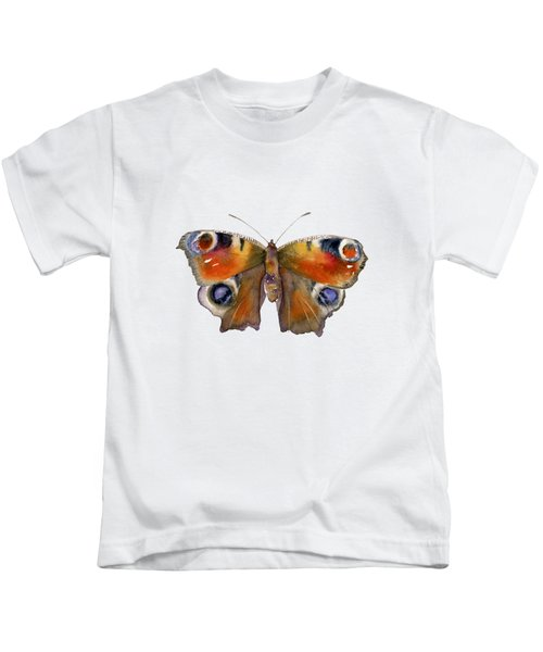 10 Peacock Butterfly Kids T-Shirt