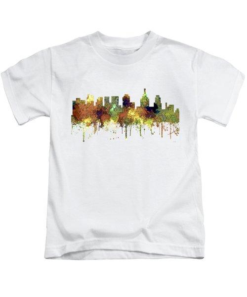 Philadelphia Pennsylvania Skyline Kids T-Shirt