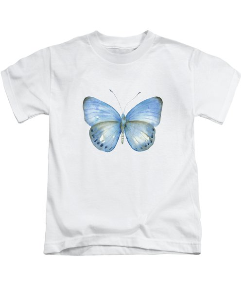 110 Blue Jack Butterfly Kids T-Shirt