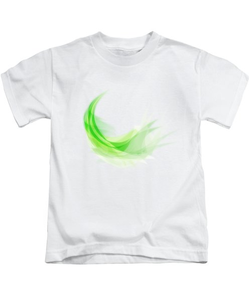 Abstract Feather Kids T-Shirt