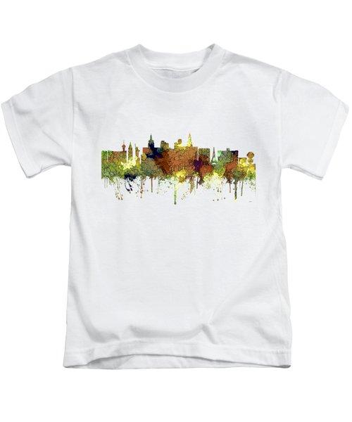 Las Vegas Nevada Skyline Kids T-Shirt