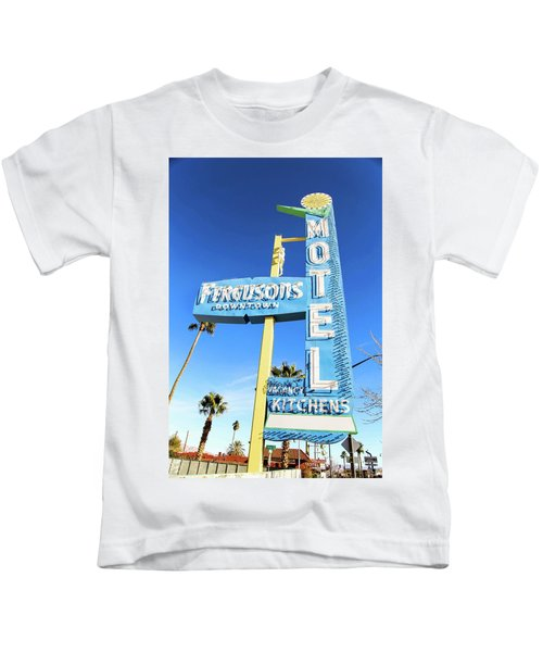 Remnants Of Vintage Vegas Kids T-Shirt