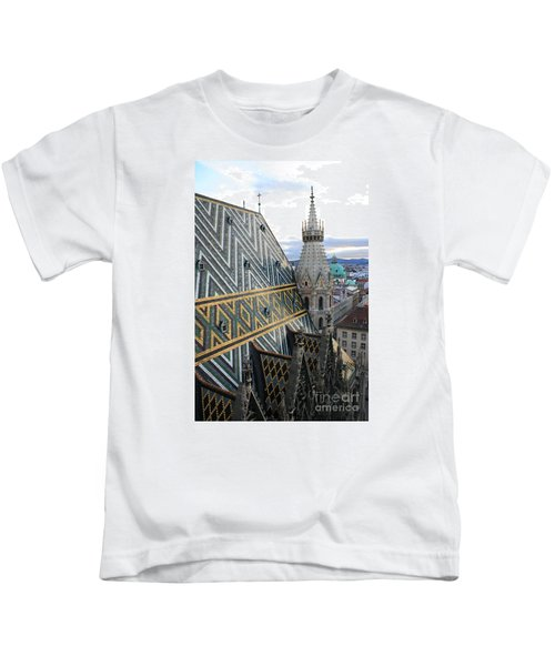 St Stephens Cathedral Vienna Kids T-Shirt