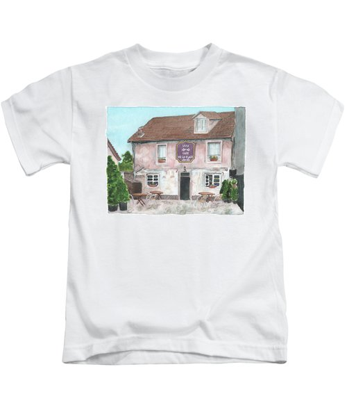 1775 Cafe De La Place Kids T-Shirt
