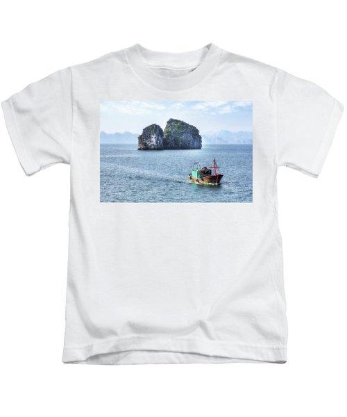 Halong Bay - Vietnam Kids T-Shirt