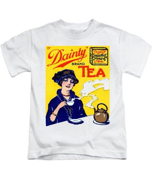 1910 Dainty Tea Kids T-Shirt