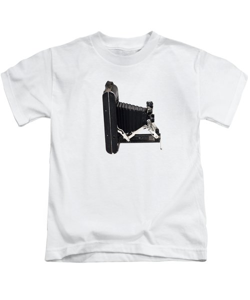 1921 Kodak A 116 Folding Bellows Camera  Kids T-Shirt