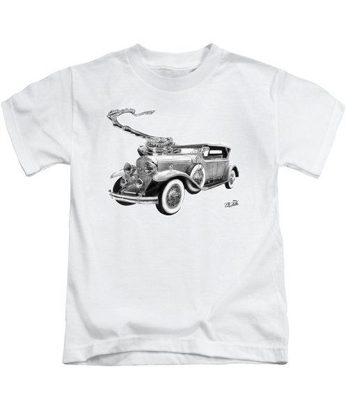 1929 Cadillac  Kids T-Shirt