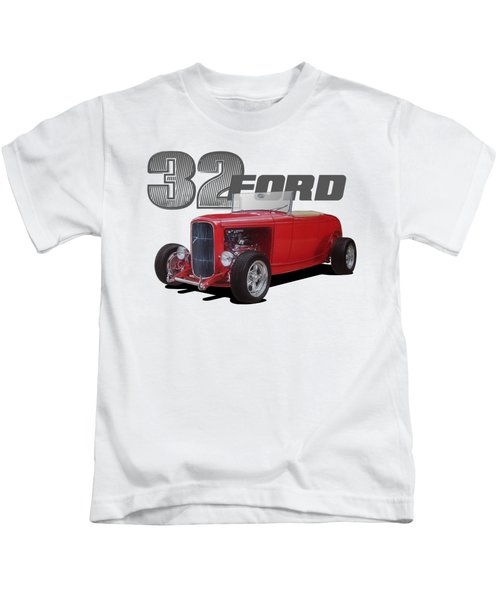 1932 Red Ford Kids T-Shirt
