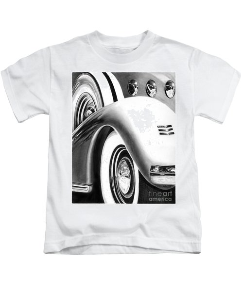 1935 Lasalle Abstract Kids T-Shirt
