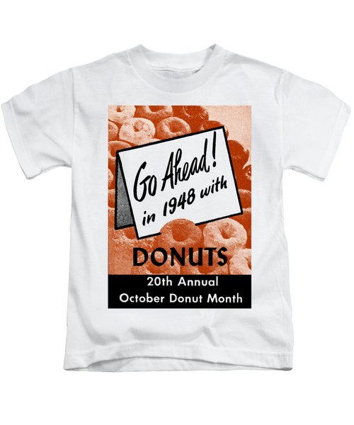 1948 Donut Poster Kids T-Shirt