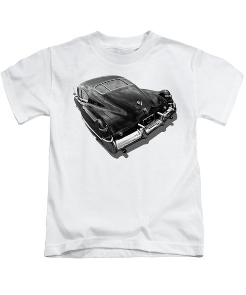 1949 Cadillac Sedanette In Mono Kids T-Shirt