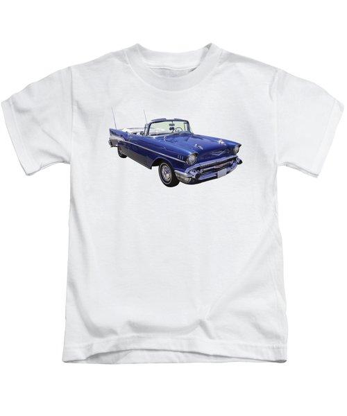 1957 Chevrolet Bel Air 2-door Convertible Kids T-Shirt