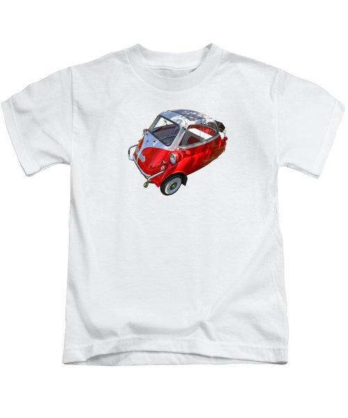 1957 Isetta 300 Top View Kids T-Shirt