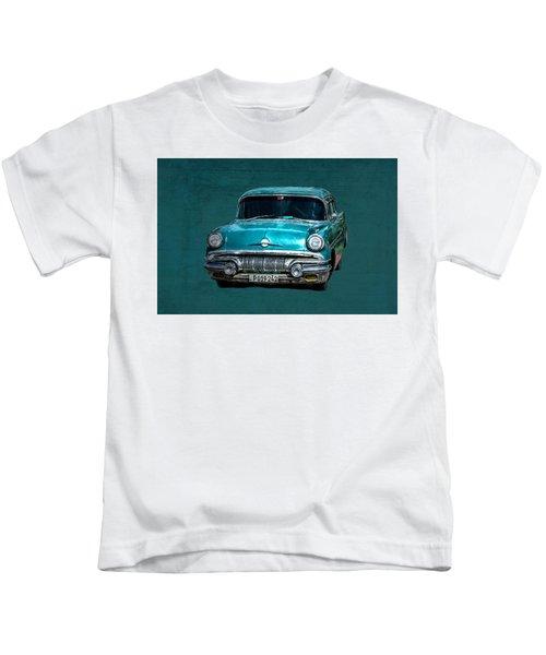1957 Pontiac Bonneville Kids T-Shirt