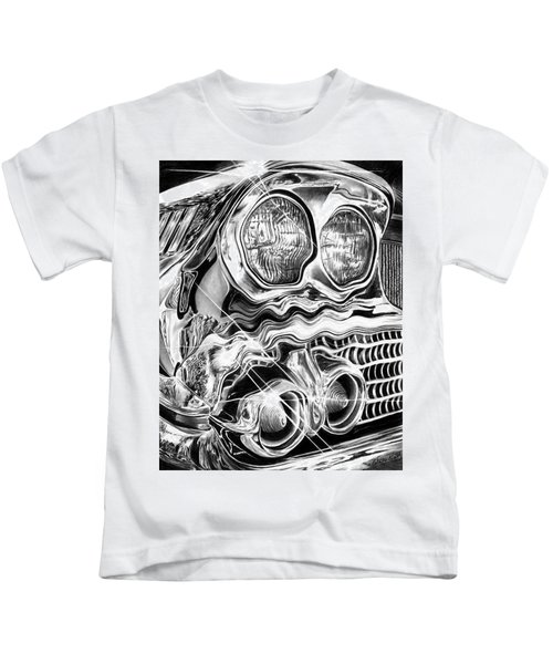 1958 Impala Beauty Within The Beast Kids T-Shirt