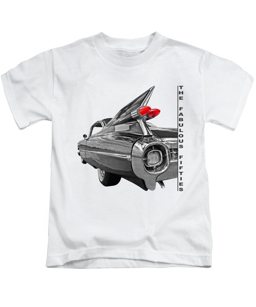 1959 Cadillac Tail Fins Kids T-Shirt