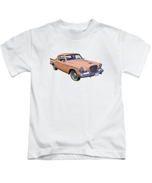 1961 Studebaker Hawk Coupe Kids T-Shirt